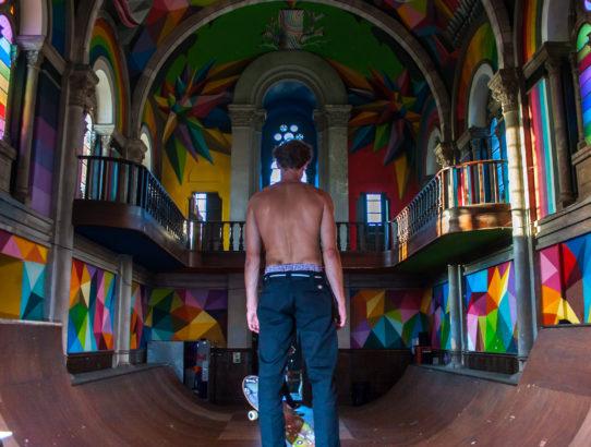 La Iglesia skate - Die coolste Kirche der Welt
