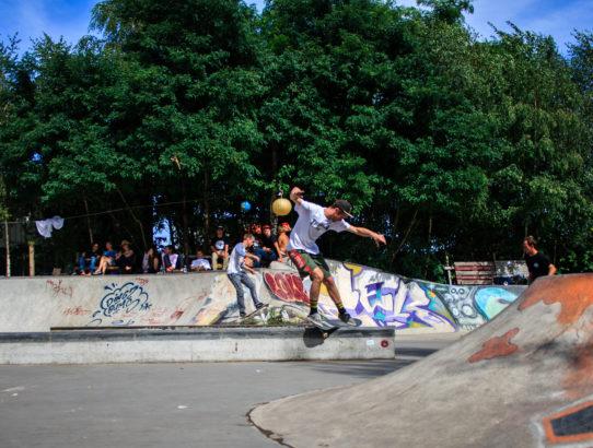2er Skatepark in Hannover Linden