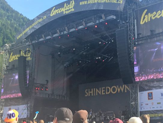 REVIEW Greenfield 2018 – Anreise & Tag 1