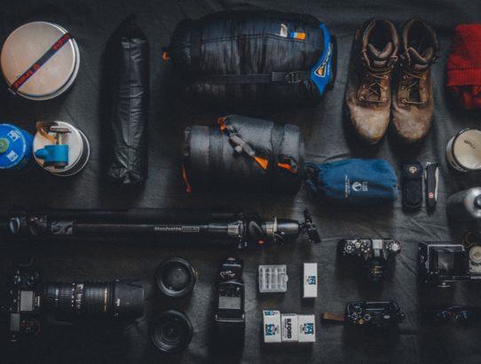 Kamera-Equipment auf Reisen - Reisevorbereitungen