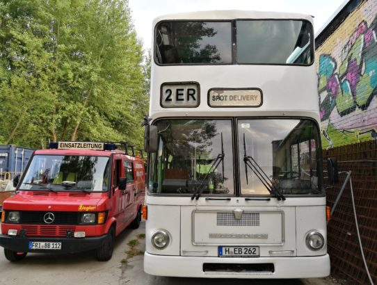Raus aus der Komfortzone und ab nach Hannover
