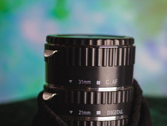 Makrofotografie mit Zwischenringen